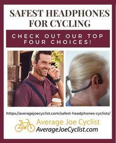 If you like to wear headphones while cycling, you will be happy to know that there are some safe ways to do this! Here are the safest headphones for cycling Cycling Quotes, Cycling Tips, Cycling Art, Bicycle Workout, Cycling Workout, Women's Cycling Jersey, Cycling Jerseys, Good Quality Headphones, Cycling For Beginners