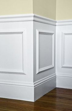 waynes coating ideas | If you don't already have wainscoting, not to worry. You can still ...