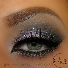 'Midnight Princess' I love this eye makeup. I think I want something like this for my wedding day!