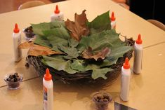 leaf collage for nature based loose parts for the Reggio inspired classroom Autumn Activities, Preschool Activities, Reggio Emilia Preschool, Reggio Inspired Classrooms, Block Play, Teacher Inspiration, Circle Time, Dramatic Play, Lets Play