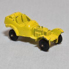 Roadster Hot rod Tootsietoy Yellow