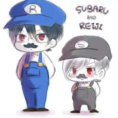 Diabolik Lovers Subaru and Renji