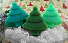 Christmas Soap   Oh Christmas Trees  Made With Goats by SoapGarden