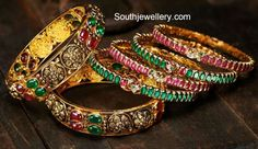 Indian Jewellery Designs - Page 5 of 1779 - Latest Indian Jewellery Designs 2020 ~ 22 Carat Gold Jewellery one gram gold Indian Jewellery Design, Latest Jewellery, Bead Jewellery, Indian Jewelry, Jewelry Design, Jewelry Tree, Bridal Jewellery, Plain Gold Bangles, Ruby Bangles