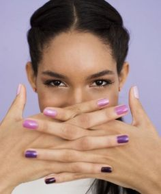 Every spring we see a deluge of purple makeup hit counters, and every year women avoid those pretty shadows, liners, and lip colors like the plague. What gives? Plum, lilac, violet, and aubergine are all shades that are supremely flattering on a wide variety of skin tones, and yet you shun them.