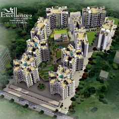 Gandharv Excellence is a residential project developed by Yogesh Enterprises. The project is fulfill by ample amenities and have good location point. Gandharva Excellencee is exotic, it is green and full of energy and it is an idea that will bring a new blossom in your life...