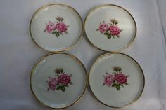 bonbon small plates with roses from Kaiser, Germany   other   hetderdeserviesrotterdam