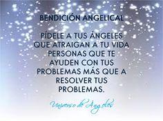BENDICIÓN ANGELICAL  A los ángeles les fascina ayudarte a alcanzar tus metas, pero prefieren actuar como co-creadores más que como magos.  Imagina qué tan empoderado te sentirás cuando alcances tus propias metas pero, por supuesto, con la ayuda de tus amigos angelicales.  #UniversoDeAngeles