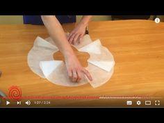 Юбка - двойное солнце для рейтингового платья - YouTube