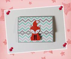 Geschenkkartons - Geschenkverpackung Gutscheinkarte Fuchs - ein Designerstück von Pusteblumendesign bei DaWanda