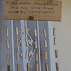 Whether you are a redneck, fan of a redneck or have a sense of humor, follow these directions to make yourself your very own redneck chimes that are sure to make everyone laugh....