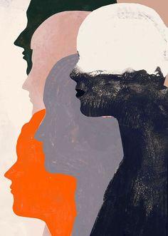 Illustration for Jacobin Illustration for Jacobin - Kunst Psychedelic Art, Digital Art Illustration, Art Sketches, Art Drawings, Art Du Collage, Aesthetic Art, Art Inspo, Line Art, Modern Art