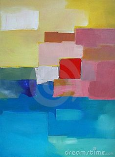 Modern Abstract Art - Painting - Landscape - Download From Over 30 Million High Quality Stock Photos, Images, Vectors. Sign up for FREE today. Image: 14477977