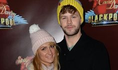 Jay McGuiness and AlionaVilani cuddle up in Blackpool