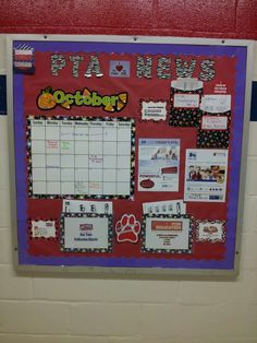 Our new bulletin board. Folders so that it is interactive. Need a new border and letters though.