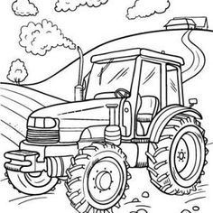 Tractor Trailer Coloring Pages. 20 Tractor Trailer Coloring Pages. Tractor Trailer Coloring Pages Hellokids Tractor Coloring Pages, Monster Truck Coloring Pages, Farm Animal Coloring Pages, Coloring Pages For Boys, Coloring Pages To Print, Coloring Book Pages, Free Coloring, Printable Christmas Coloring Pages, Free Printable Coloring Pages