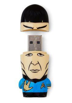 Spock and Roll USB Flash Drive | Mod Retro Vintage Electronics | ModCloth.com