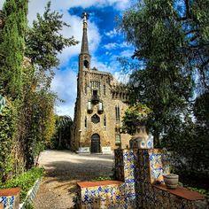 Torre de Bellesguard - Gaudí - Barcelona, Spain
