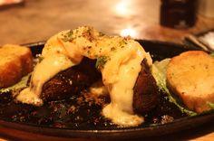 portabello mushrooms and maasdam cheese   - Costa Rica