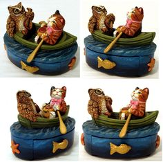 The Owl and Pussycat Treasure Box