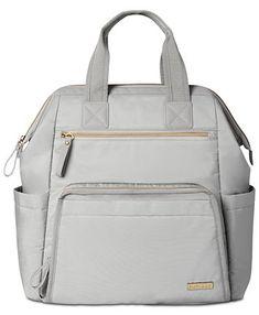 Skip Hop Mainframe Wide Open Diaper Backpack & Reviews - All Kids' Accessories - Kids - Macy's Buy Backpack, Backpack Online, Diaper Bag Backpack, Backpack Straps, Large Diaper Bags, Large Bags, Chic Diaper Bag, Convertible Diaper Bag, Diaper Bag Essentials