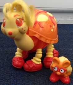 Vintage Keypers Orange Turtie & Friend Tonka 1980's Toy | eBay