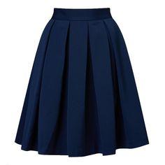 Юбка-мини темно-синяя со складками, Befree, где купить: befree
