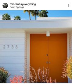 Garage Door Springs, Garage Doors, Garage Door Spring Replacement, Palm Springs, Outdoor Decor, Home Decor, Decoration Home, Room Decor, Interior Design