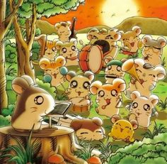 I miss Hamtaro.cute little hamsters everywhere! Cartoon Crazy, Cartoon Shows, Anime Shows, Hamtaro, Kawaii Chibi, Anime Kawaii, Miss The Old Days, Cartoon Art Styles, Cute Hamsters