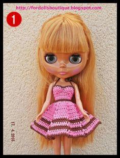 Blythe doll clothes / ropa para muñecas Blythe