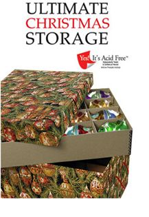 Christmas Storage Solutions - Ultimate Christmas Ornament Storage ...