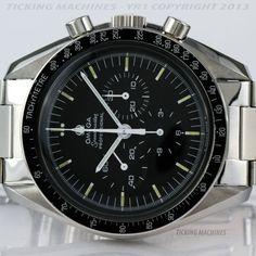 Omega Speedmaster Professional Moonwatch 861 Ref. 3590.50 Tritium Dial 42mm 1971