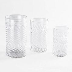Laurence Brabant Spiraled Glasses