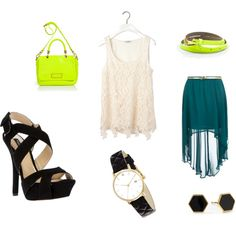 """Shopping day in Summer"" by teaandfashion on Polyvore"