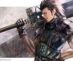 Final Fantasy Crisis Core, Final Fantasy Cloud, Final Fantasy Artwork, Final Fantasy Characters, Final Fantasy Vii Remake, Fantasy Series, Fantasy World, Cloud And Tifa, Cloud Strife