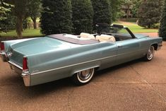 Bid for the chance to own a 1969 Cadillac DeVille Convertible at auction with Bring a Trailer, the home of the best vintage and classic cars online. Cadillac Ats, Cadillac Fleetwood, Cadillac Eldorado, Le Mans, 2013 Jaguar, 1966 Chevelle, Mustang Cars, Classic Cars Online, Car Manufacturers