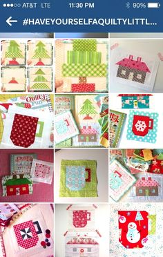 Bee In My Bonnet: Have Yourself a Quilty Little Christmas - an Instagram Sew Along !!!