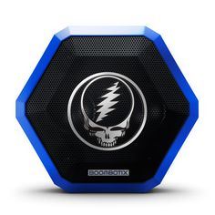 Boombotix - Boombot PRO Bluetooth Speaker, Taking Music to the Next Level, Grateful Dead Special Edition. HIGH LEVEL AUDIO PERFORMANCE: The Boombot PRO is designed for those that demand the highest level of audio performance. The high output, dual amplifier configuration of the Boombot PRO drives 2x5 watts of power with a dynamic acoustic tune. RUGGED HYBRID RUBBER + ABS PLASTIC SHELL: The Boombot PRO features a rugged hybrid rubber + ABS plastic shell with reinforced clip that allows the...