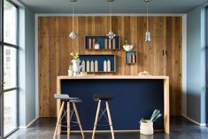 Dulux Colour of the Year 2017 - Mad About The House: Dulux new colours: Denim Drift, Borrowed Blue, Cobalt Night, Earl Blue, Indigo Shade. Blue Painted Walls, Blue Walls, Blue Rooms, Denim Drift, Dulux Valentine, Color Of The Year 2017, Mad About The House, Kitchen Trends, Cuisines Design