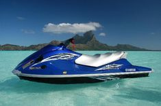 Moana Jet Boat: 2 hour jet ski tour around Bora Bora
