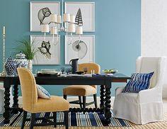 Incorporate Subtle Pops of Color into a Neutral Home {Color Palette Monday…