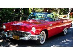 1957 Thunderbird Red convertible