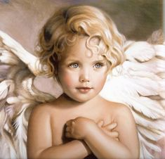 Angel Child by Nancy Noel - One of my most favorite angel paintings ever. Came across this after my son died - it always makes me think of him. <3