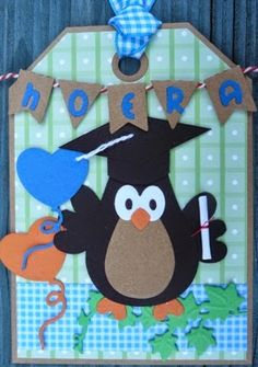 Creaties van Hetty: Geslaagd !!!! Ali Express, Marianne Design, Love Cards, Owls, Graduation, Van, Kids Rugs, Student, Inspire