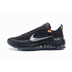 quality design da38a 2ba9e Cheap OFF WHITE Nike Air Max 97 Black Sliver Online Outlet  CheapNikeAirMax