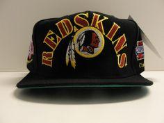 b343be1b635 Washington Redskins Vintage Snapback Hat Cap Annco Rare 1990s