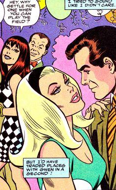 "Amazing Spider-Man #365 (August 1992) ""I Remember Gwen"" Art by John Romita Sr."
