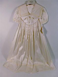 1501d98a8 New Little Darlings 100% Silk Christening Gown Robe Baby Christening Gowns,  Party Scene,