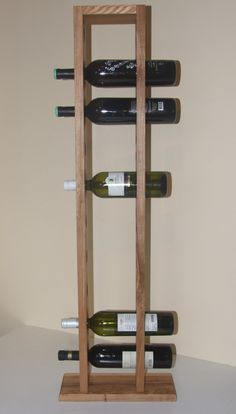 Standing Wine Shelf