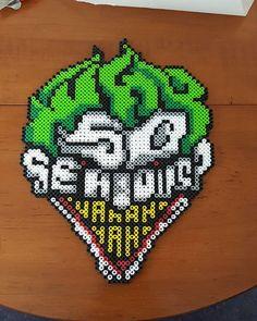 The Joker perler beads by m0n0xide20                                                                                                                                                     More